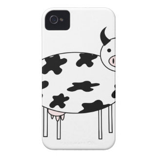 Illustrated Cow iPhone 4 Cover