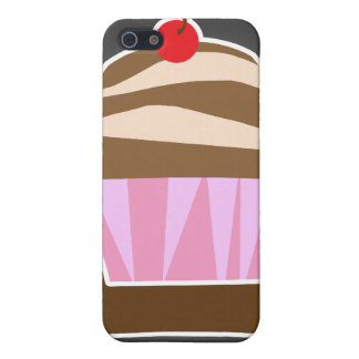 Illustrated Cupcake Custom Case For iPhone SE/5/5s