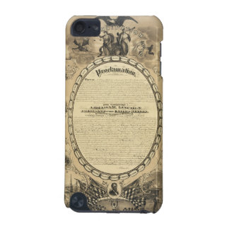 Illustrated Image of the Emancipation Proclamation iPod Touch 5G Case