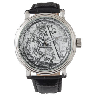 Illustrated Initial (Italian) - A Watches