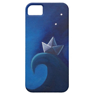 Illustrated iPhone Case. Little Paper Boat. iPhone SE/5/5s Case