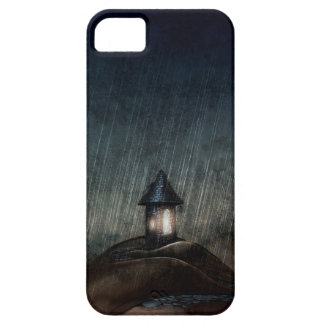 Illustrated iPhone Case. Warm When It Rains. iPhone SE/5/5s Case