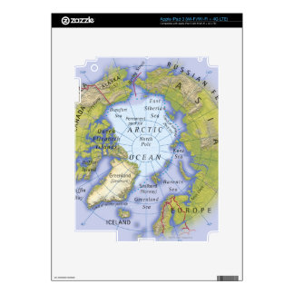 Illustrated Map 2 Decal For iPad 3