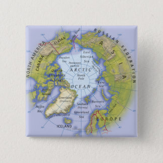 Illustrated Map 2 Pinback Button