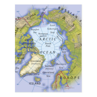 Illustrated Map 2 Postcard