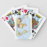 Illustrated Map 3 Bicycle Playing Cards