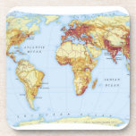 Illustrated Map 3 Coasters