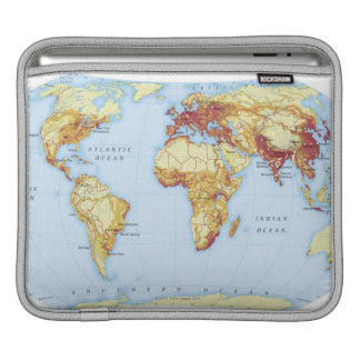 Illustrated Map 3 Sleeve For iPads
