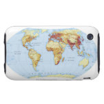 Illustrated Map 3 iPhone 3 Tough Cover