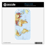 Illustrated Map 3 iPhone 4S Skin