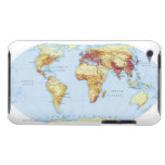 Illustrated Map 3 iPod Touch Case