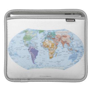 Illustrated Map 4 iPad Sleeve