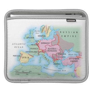 Illustrated Map of Europe iPad Sleeve