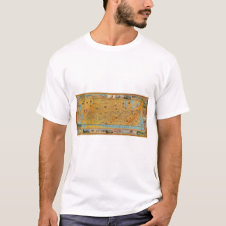 Illustrated Map of US Airways T-Shirt