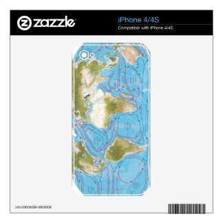 Illustrated Map Skin For The iPhone 4S