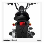 Illustrated Motorcycle Back Room Stickers