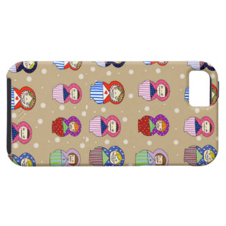 Illustrated russian doll case