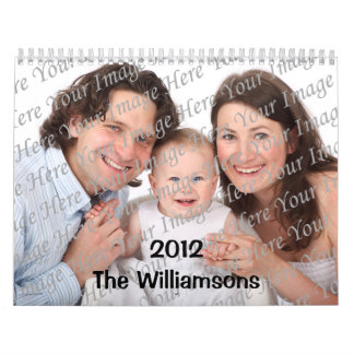Illustrated Seasons Custom 2012 Big Photo Calendar