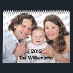 """Illustrated Seasons Custom 2012 Big Photo Calendar<br><div class=""""desc"""">Add your favorite photos to this fun 2012 calendar,  which highlights your favorites in a large size!</div>"""
