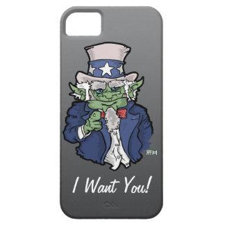 Illustrated Uncle Sam iPhone 5 Case (dark)