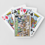 """Illustrated """"Wild West Poker Game"""" Bicycle playing Bicycle Playing Cards"""