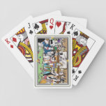"""Illustrated """"Wild West Poker Game"""" playing cards"""