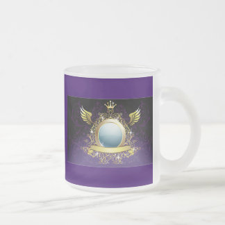 illustration1 frosted glass coffee mug