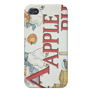 Illustration 'A' from 'Apple Pie Alphabet' iPhone 4 Case