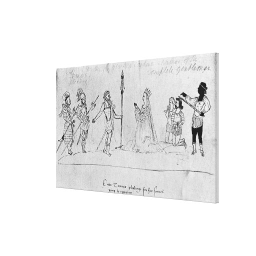 Illustration Andronicus, by William Stretched Canvas Prints