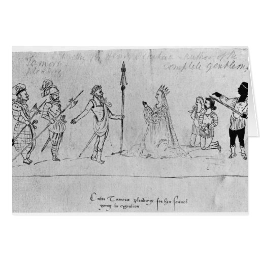 Illustration Andronicus, by William Greeting Card