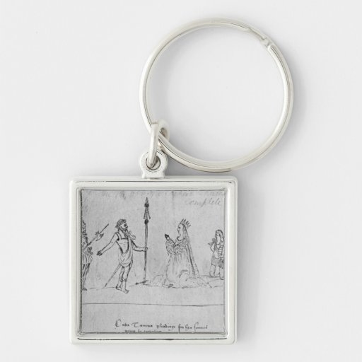 Illustration Andronicus, by William Key Chain