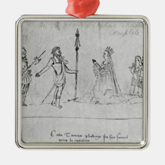 Illustration Andronicus, by William Metal Ornament