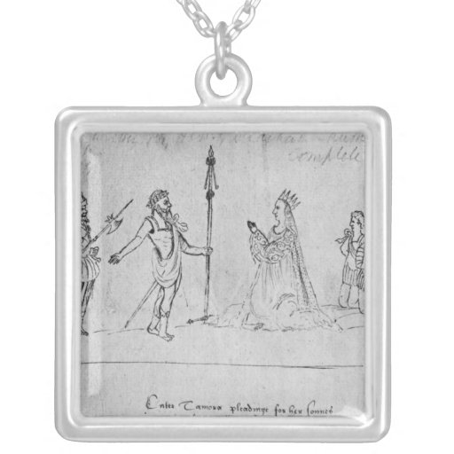 Illustration Andronicus, by William Personalized Necklace