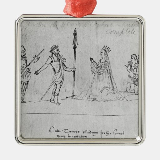 Illustration Andronicus, by William Christmas Ornament