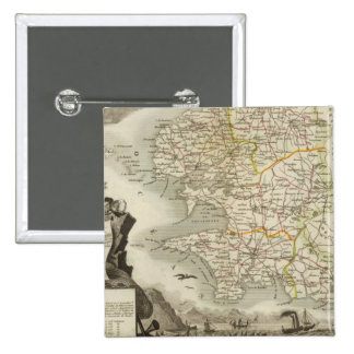 Illustration Atlas Maps Button