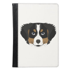 iPad Air Folio Case by Ivoke with Bernese Mountain Dog Phone Cases design