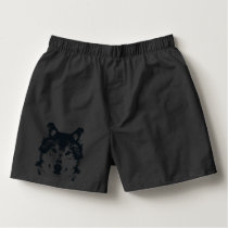 Illustration Black Wolf Boxers