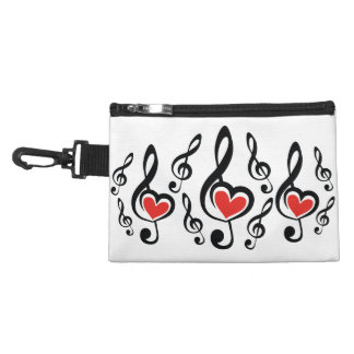Illustration Clef Love Music Accessories Bags