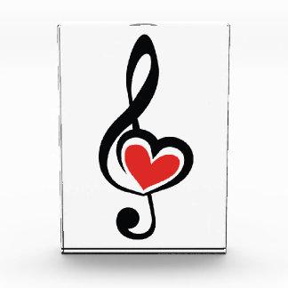 Illustration Clef Love Music Award