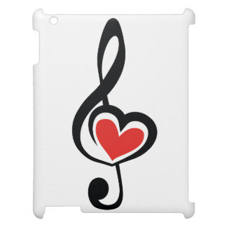 Illustration Clef Love Music Cover For The iPad
