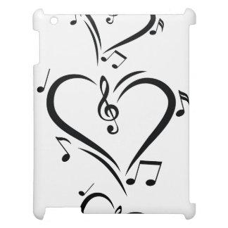 Illustration Clef Love Music iPad Covers