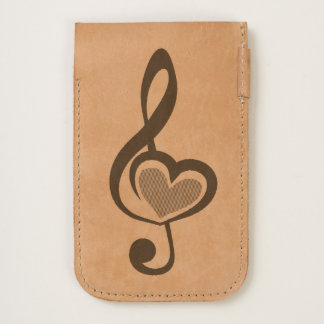 Illustration Clef Love Music iPhone 6/6S Case