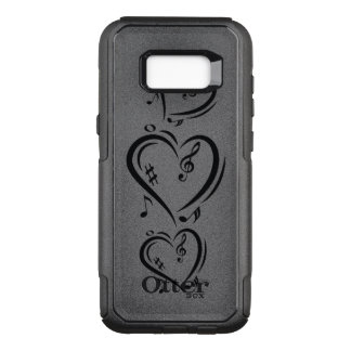 Illustration Clef Love Music OtterBox Commuter Samsung Galaxy S8+ Case