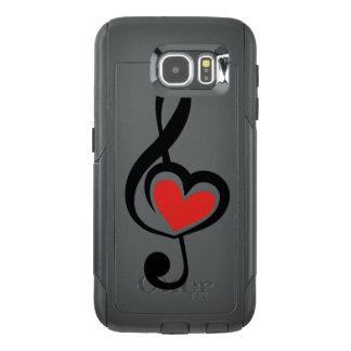 Illustration Clef Love Music OtterBox Samsung Galaxy S6 Case