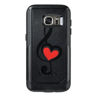 Illustration Clef Love Music OtterBox Samsung Galaxy S7 Case