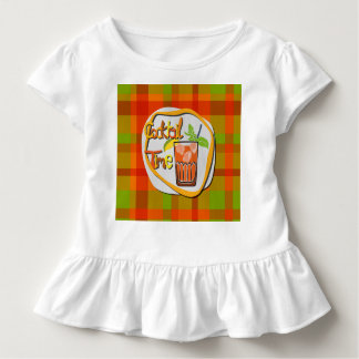 """Illustration Cocktail with fruit """"Cocktail Time"""" Toddler T-shirt"""