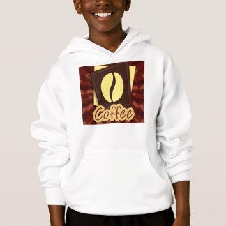 Illustration coffee bean hoodie