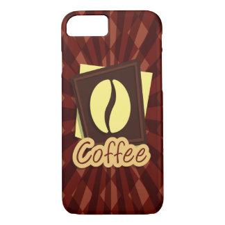 Illustration coffee bean iPhone 8/7 case