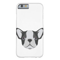 Case-Mate Barely There iPhone 6 Case with Bulldog Phone Cases design
