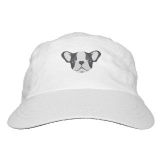 Illustration cute French Bulldog Headsweats Hat